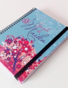 Agenda flores rosa azul1 (Copiar)