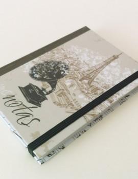 Cuaderno notas vintage gramola paris1 (Copiar)