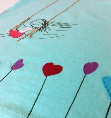 Camiseta niña columpio5